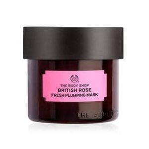 The Body Shop British Rose mask!